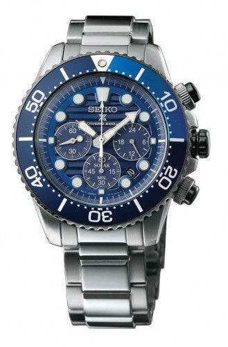 Seiko SSC675P1 'Save The Ocean' Solar Chronograph