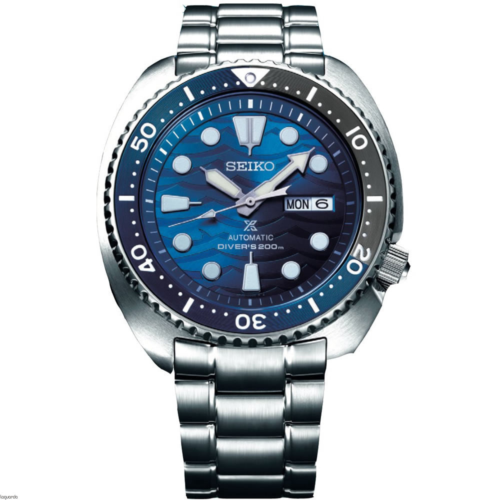 "Seiko SRPD21K1 Prospex ""Save The Ocean"" Great White Turtle"
