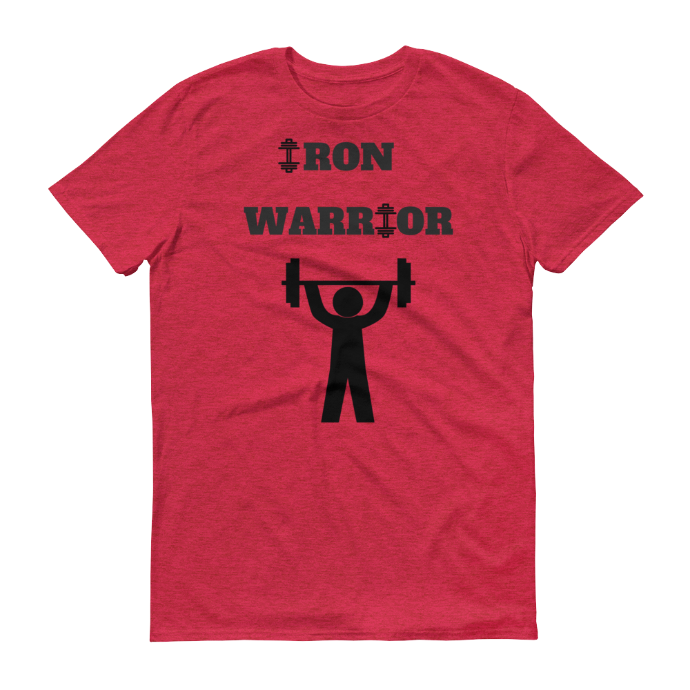 Iron Warrior Short sleeve t-shirt