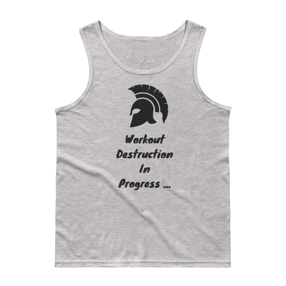 Workout Destruction Tank Top