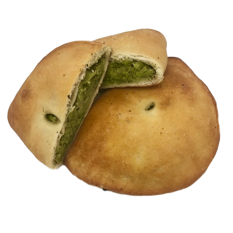 Broccoli and Cheese Calzone