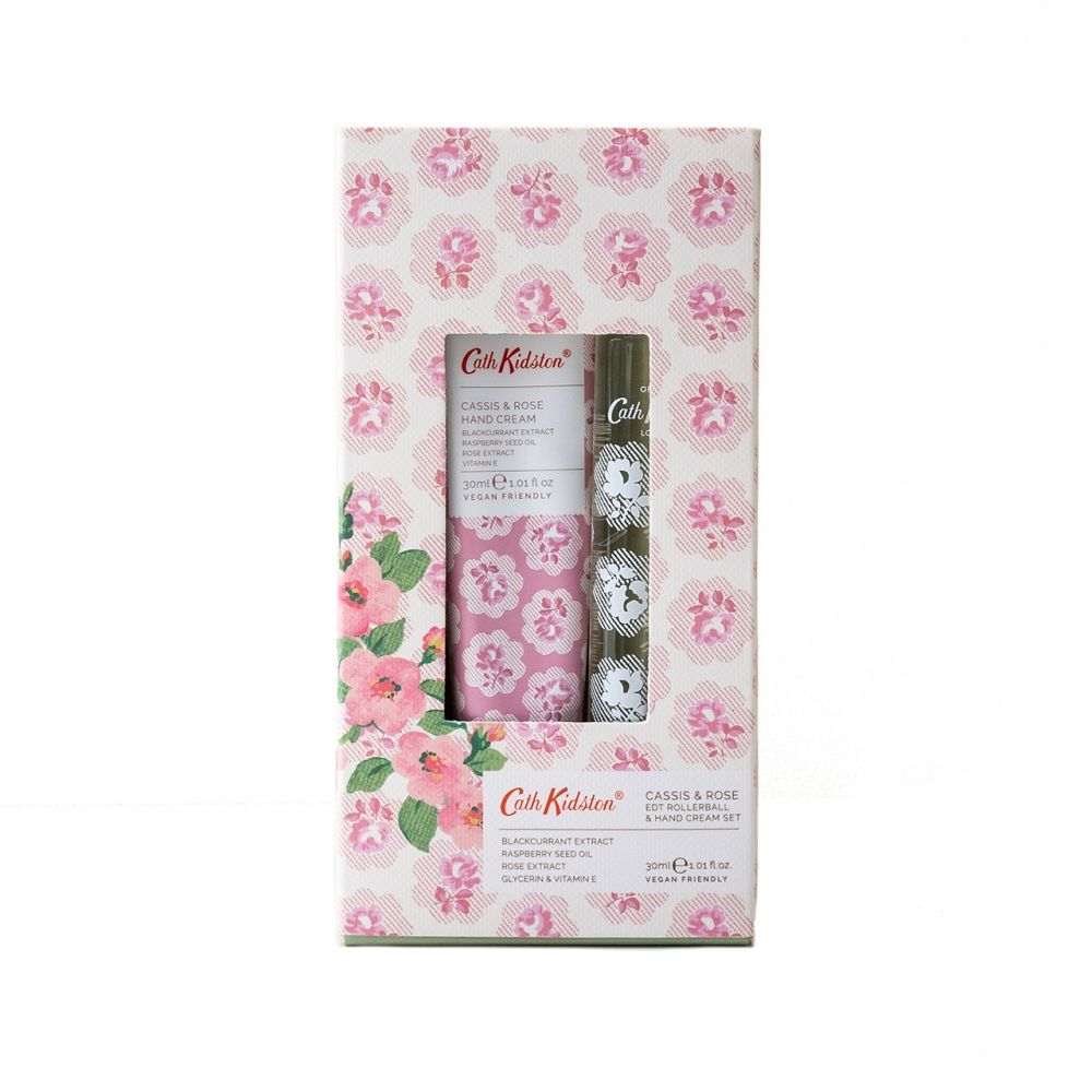 Cath Kidston Cassis & Rose Perfume & Hand Set