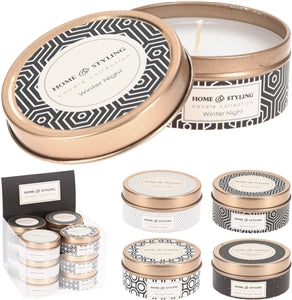Home Styling Candle Tin