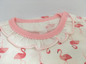 Flamingos vest top