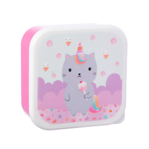 Luna Caticorn Snack Boxes - Set of 3