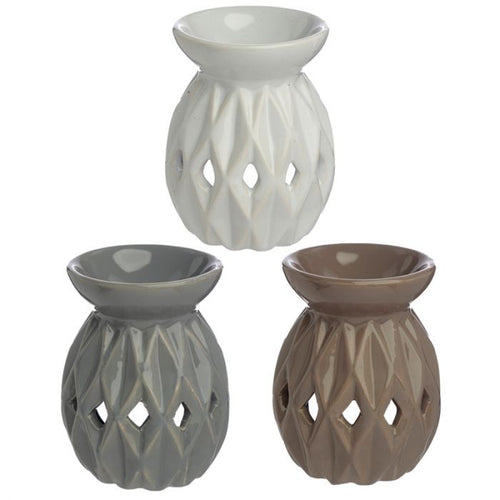 Origami Style Ceramic Oil and Wax Burner