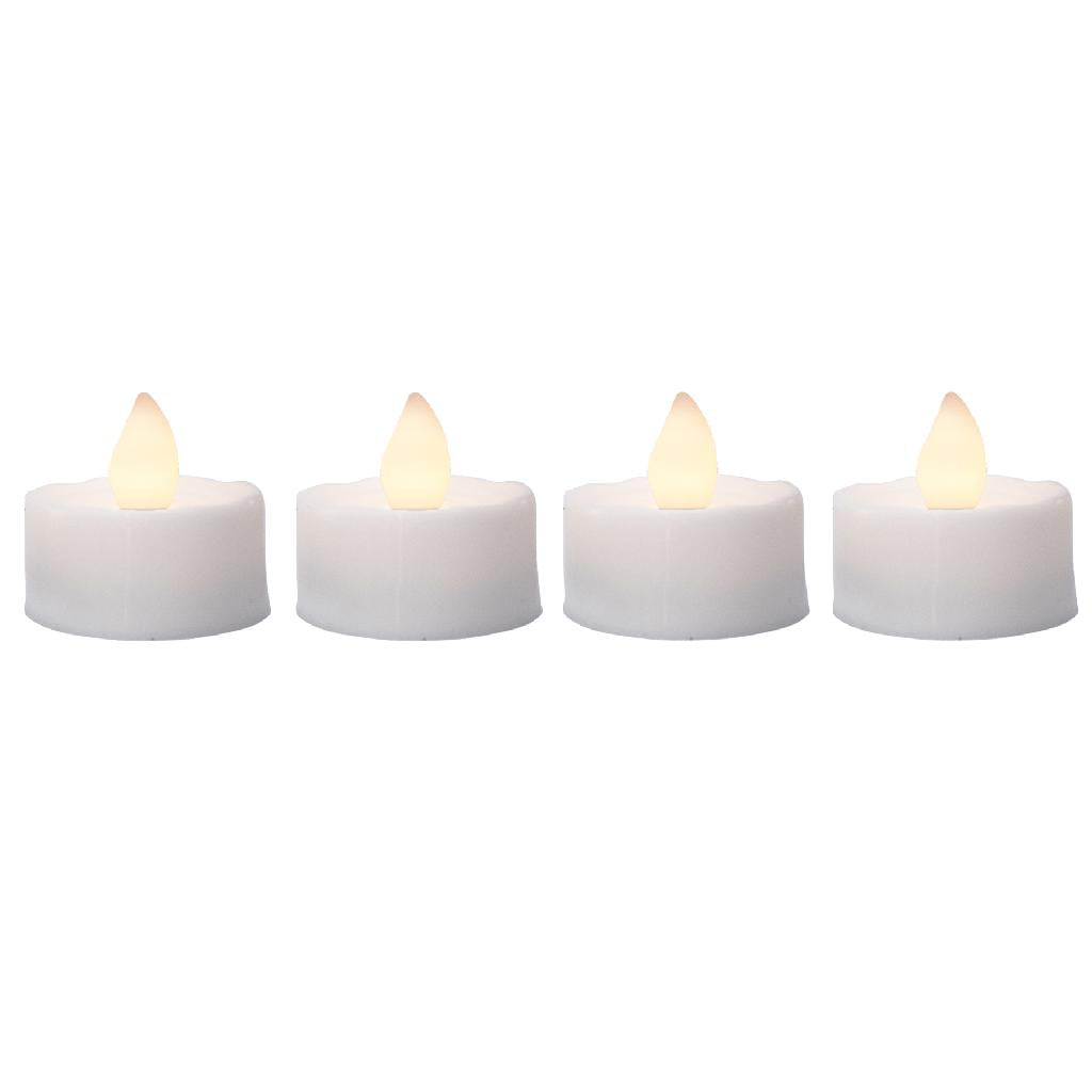Battery operated Tealights - Pack of 4