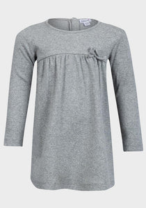BABALUNO Grey Jersey Dress