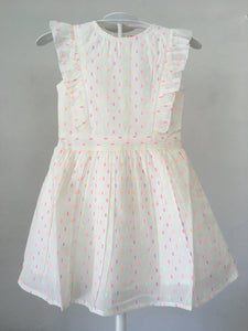 Mini Moi Cream Frills Dress