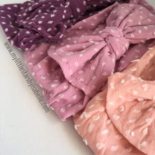 Shabby Knot Bow Headbands