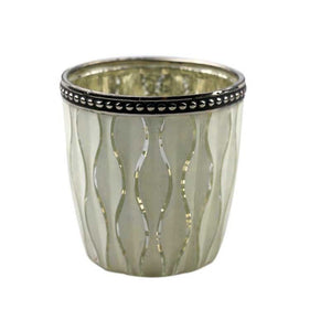 Harlequin Votive Cream T-light Holder