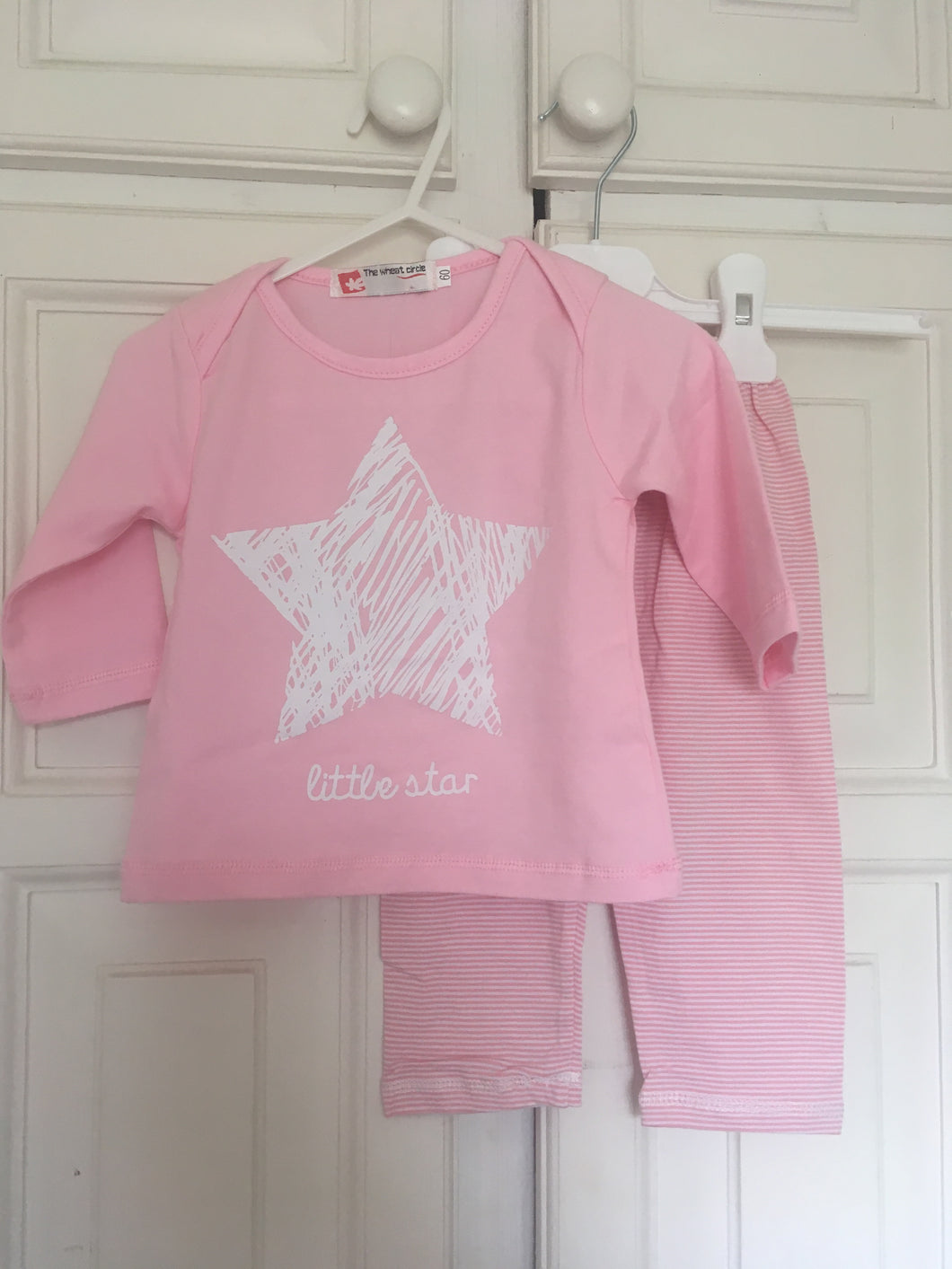 Pink Star Pyjamas Set
