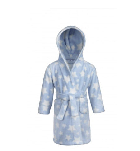 Blue Stars Dressing Gown