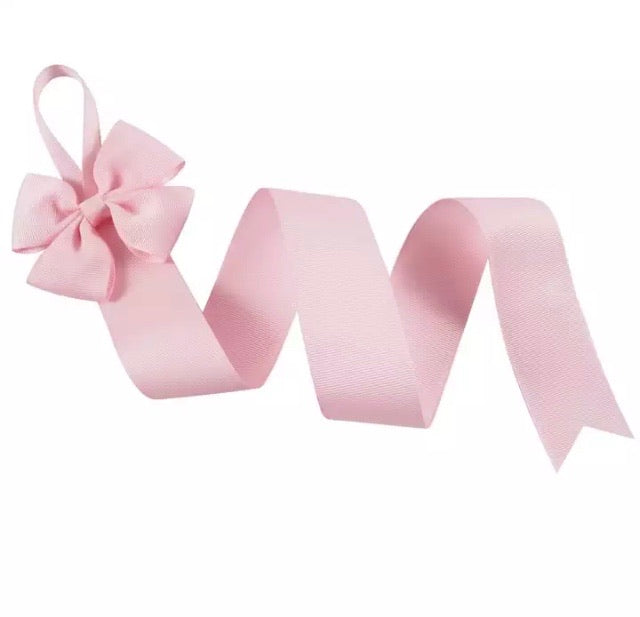 Baby Pink Hair Bow Clips Holder