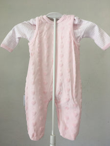 Baby Girls Dungaree Set