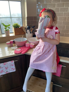 KIDS Oven Glove MARIE Pink  ISABELLE ROSE