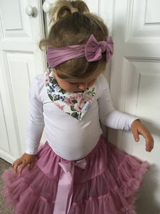 Frilly Tutu Skirt - Rose Pink