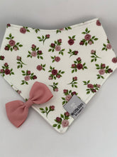 MINI ELLA OLD ROSE - Organic Dribble Bib