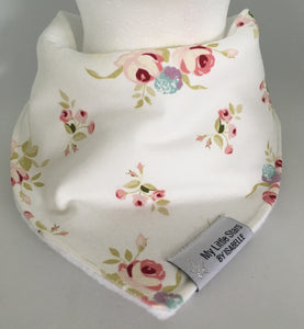 'ALVA WHITE' Dribble Bib