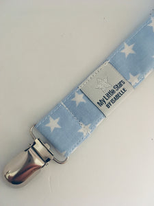 Blue Stars Soother Clip