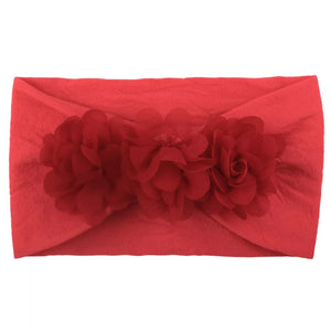 Red Stretchy Petal Headband