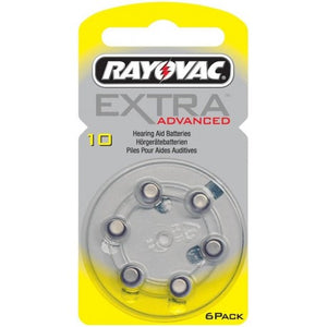 60 PCS Rayovac Air Energy Hearing Aid Batteries A10