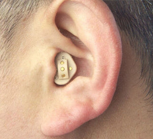 Rechargeable CIC Digital Hearing Device