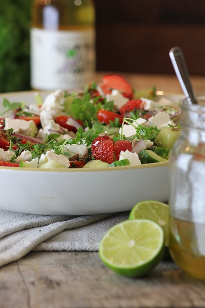 Strawberry & Feta Salad