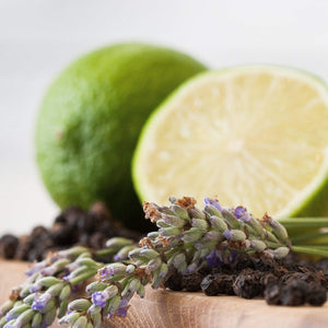 Lime, Black Pepper & Lavender Vinegar