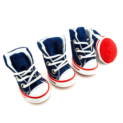 Denim Canvas Sneakers