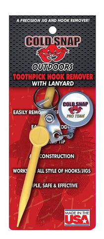 Cold Snap Outdoors Toothpick Hook Remover w/ Lanyard
