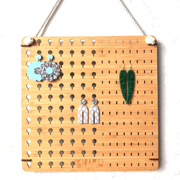 Lasercut Earring Hanger Combo - Medium