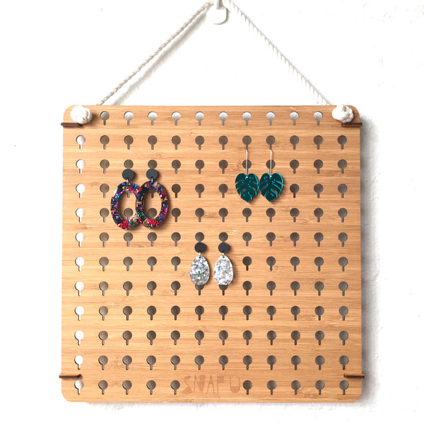 Lasercut Earring Hanger Stud ERs - Medium
