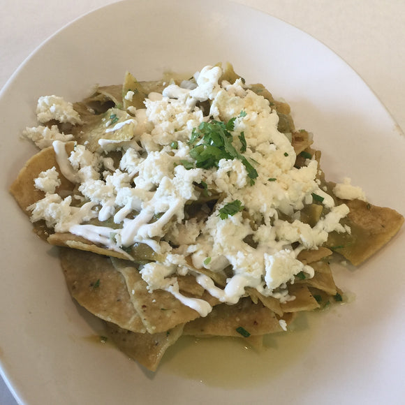 Chilaquiles Tray
