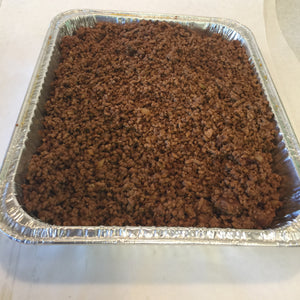 Ground Beef Tray