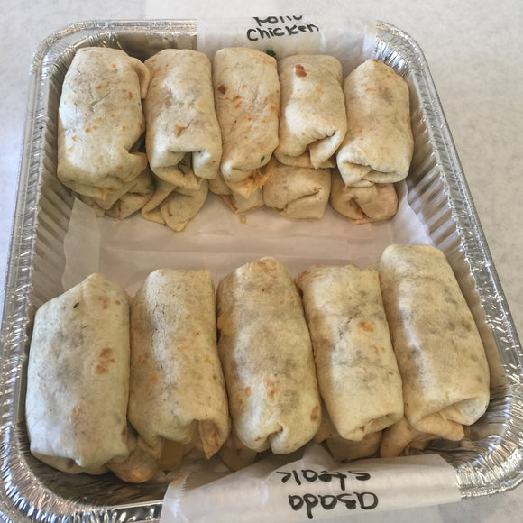 Mini Burritos Tray