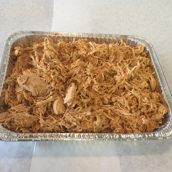 Shredded Chicken Tray