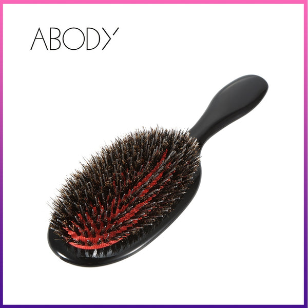 Beautys Store® Abody Hair Brush Professional Hairdressing Supplies hairbrush Comb tangle Brushes for hair combs Boar Bristle Brush hair Tools