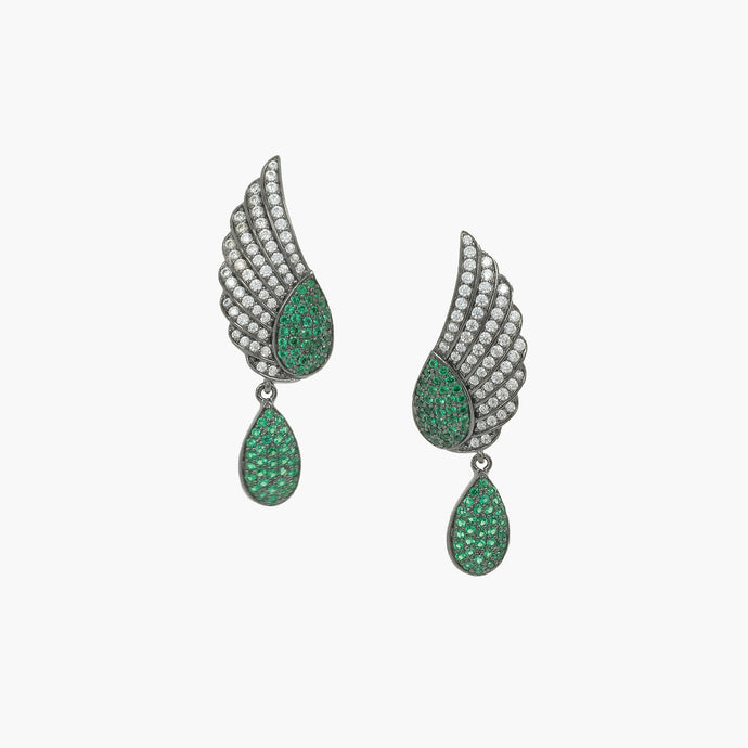 925 Wing Earrings