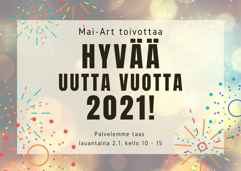 Mai-Art wishes all the 2021 happy new year