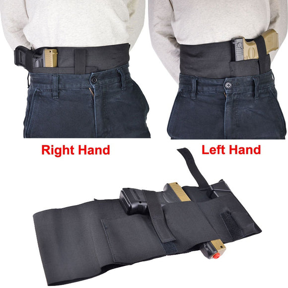 Adjustable Belly Band Left or Right Hand Draw