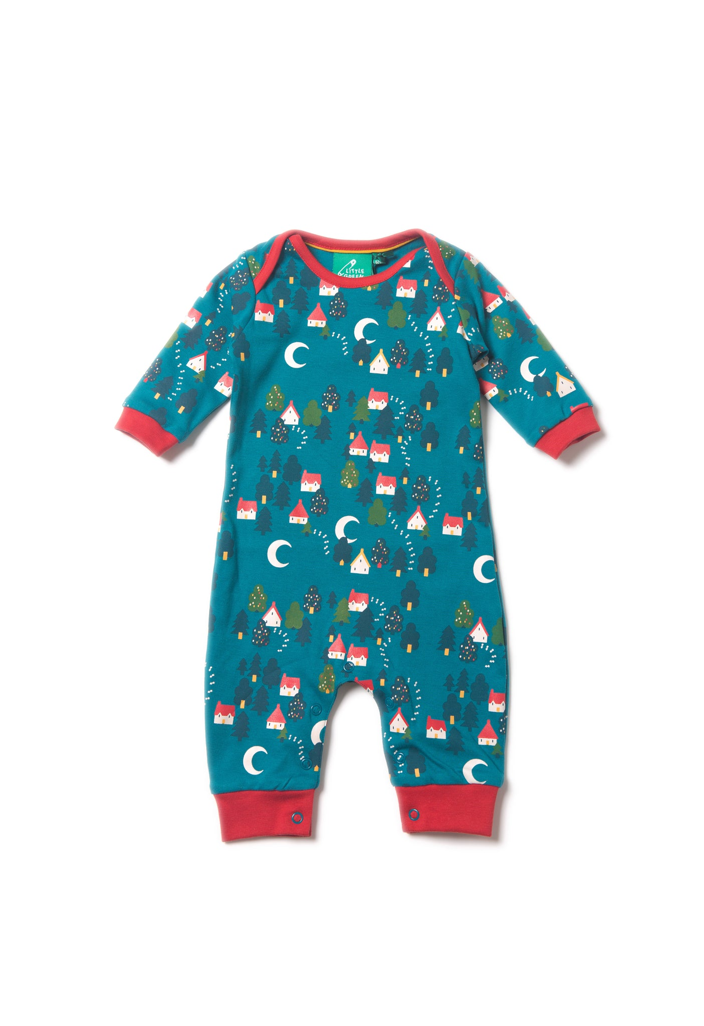 Forest Footprints Playsuit