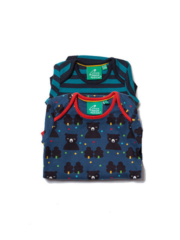Winter Bear Two Pack Baby Body Set