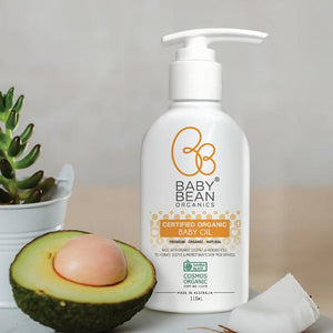 Baby Bean Organic Baby Oil - 110ml