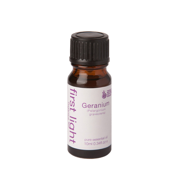 Geranium Certified Organic Essential Oil