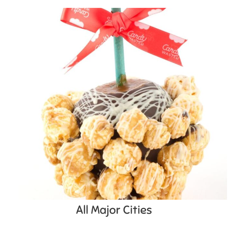 Caramel Popcorn Gourmet Toffee Apple