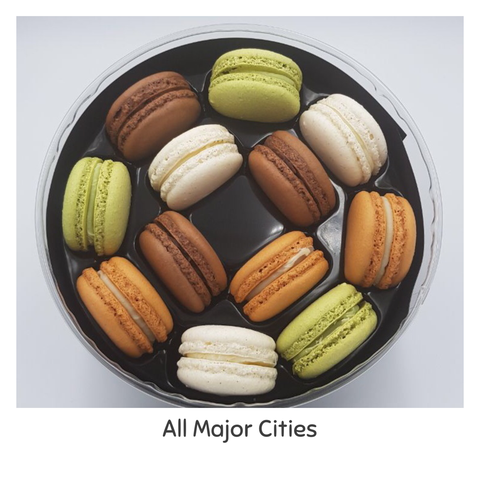 Earth Macarons
