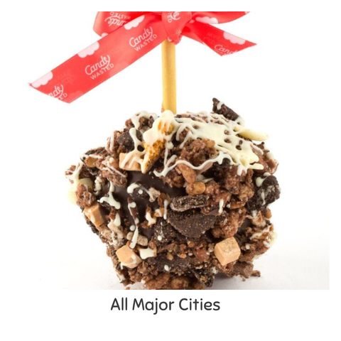 Rocky Road Gourmet Toffee Apple