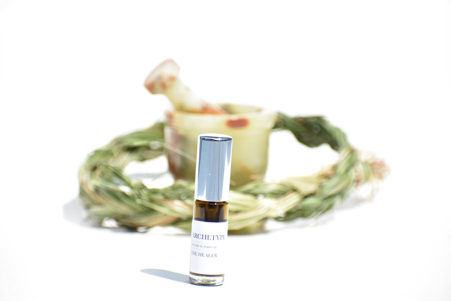 THE HEALER ARCHETYPE - Botanical Perfume - Sweetgrass, Dandelion, Orange Blossom