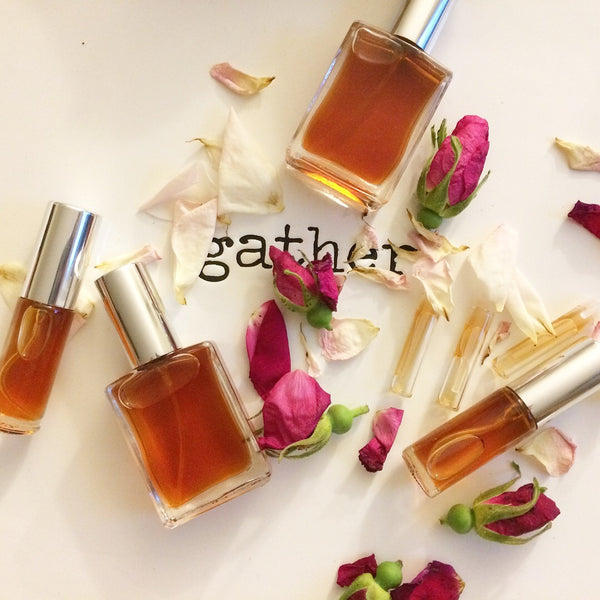GATHER | perfume welcomes you